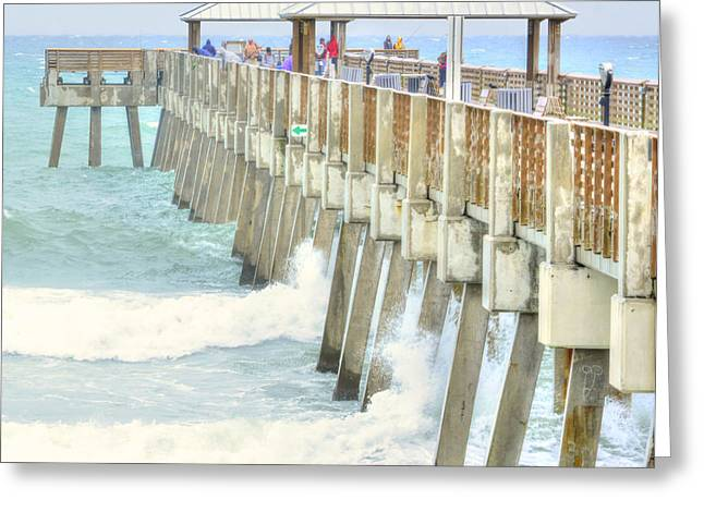 Juno Pier Greeting Card