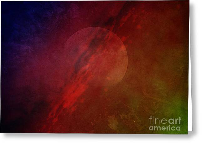 Jupiter Ascending Greeting Card