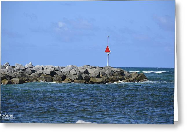 Jupiter Jetty Greeting Card