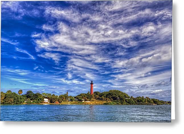 Jupiter Lighthouse IIi Greeting Card by Island Photos