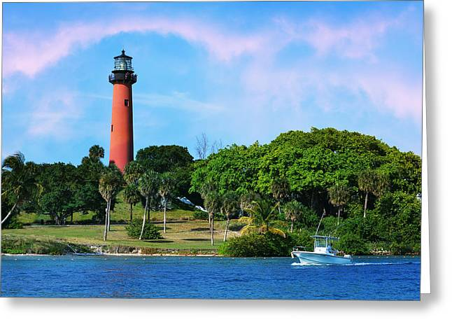 Jupiter Lighthouse Greeting Card