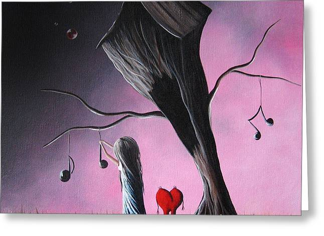 Just A Little Love Song By Shawna Erback Greeting Card by Shawna Erback