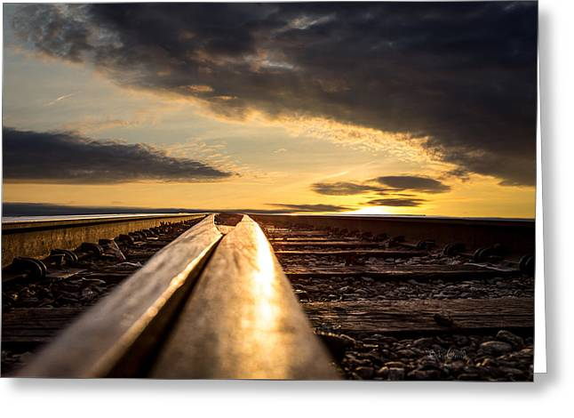 Just Before Sunrise Greeting Card by Bob Orsillo