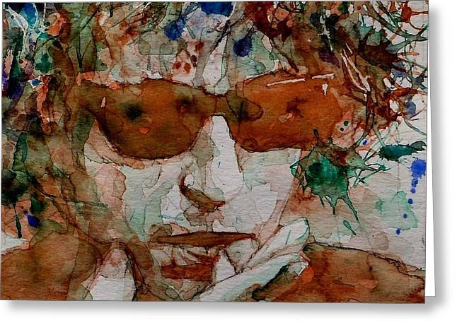 Just Like A Woman Greeting Card by Paul Lovering