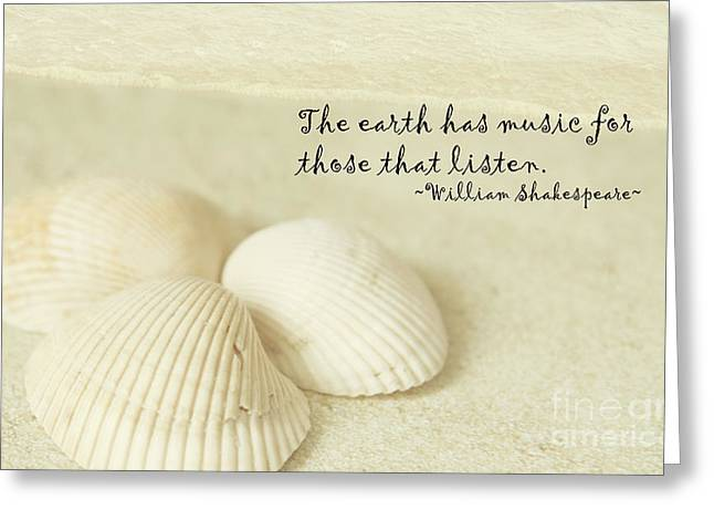 Just Listen Greeting Card