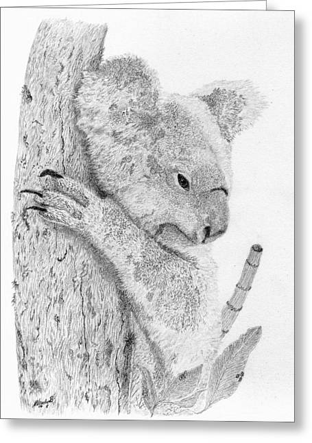 Just Relaxed Greeting Card by Wendy Brunell