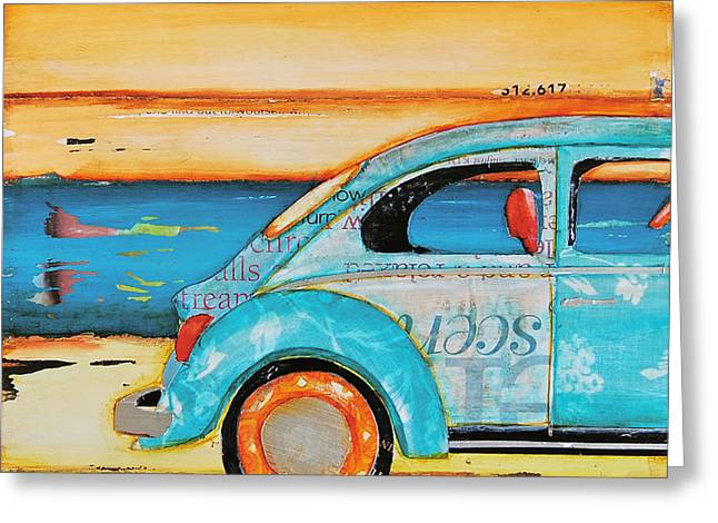 Just Roll With It Greeting Card by Danny Phillips