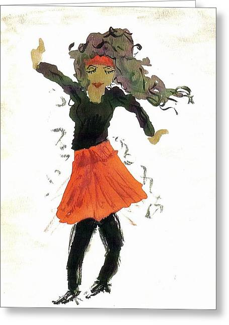 Just Zumba Greeting Card