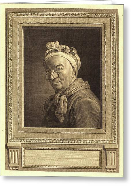 Juste Chevillet After Jean Siméon Chardin Greeting Card by Litz Collection