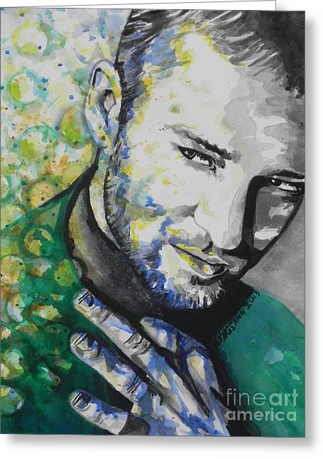 Justin Timberlake...01 Greeting Card
