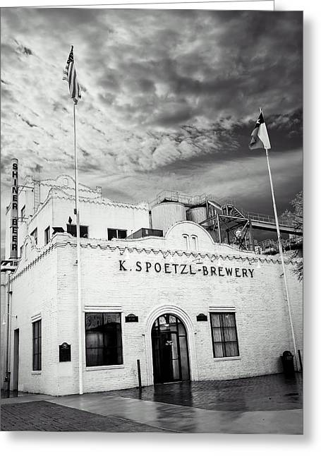 K. Spoetzl Brewery Greeting Card