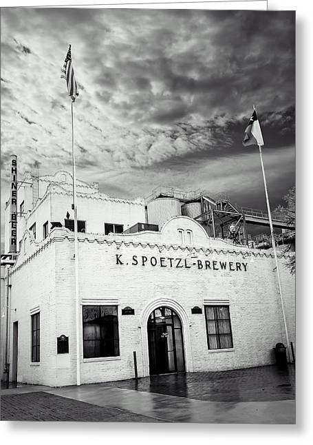 K. Spoetzl Brewery Greeting Card