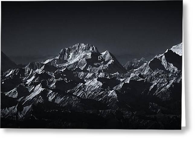 K2 The Abruzzi Spur Greeting Card