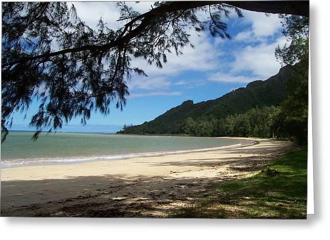 Ka'a'a'wa Beach Park Greeting Card by Kenneth Cole
