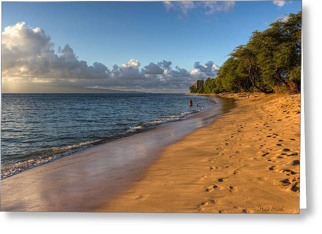 Kaanapali Dreams Greeting Card