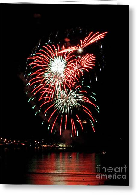 Greeting Card featuring the photograph Kaboom by Chris Anderson