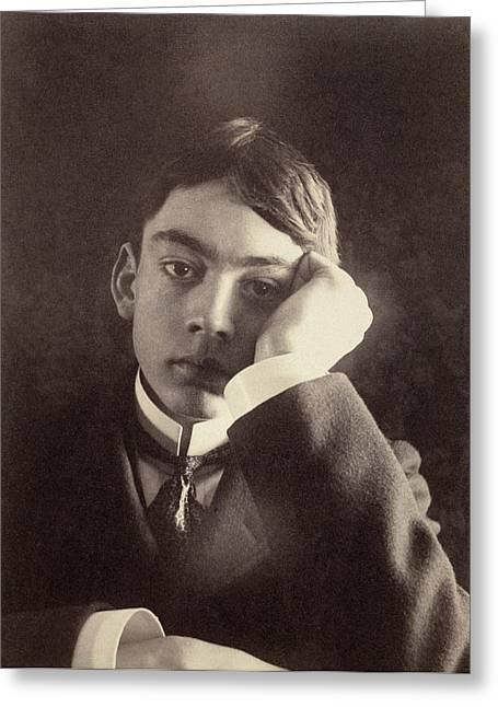 Kahlil Gibran (1883-1931) Greeting Card