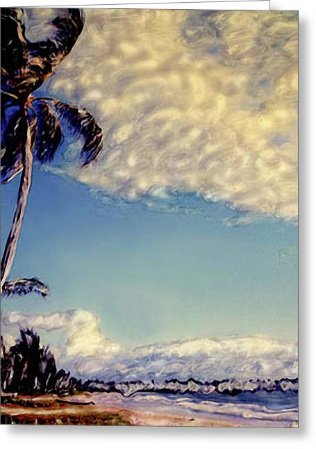 Greeting Card featuring the photograph Kailua Beach 1 by Paul Cutright
