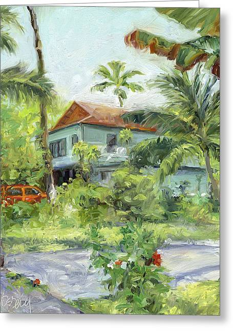 Kailua - Kona Hideaway Greeting Card by Stacy Vosberg