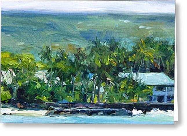Kailua - Kona Greeting Card by Stacy Vosberg
