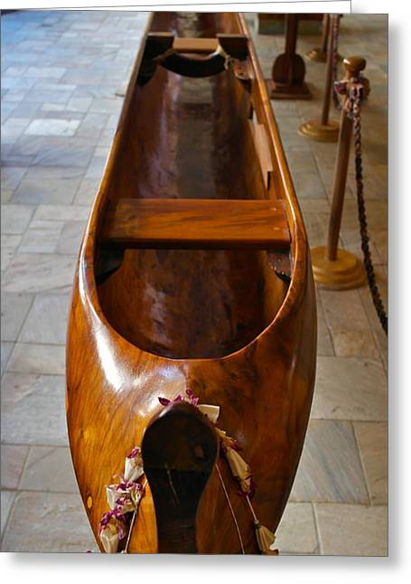 Kaiolohia Surfing Canoe 1915 Greeting Card