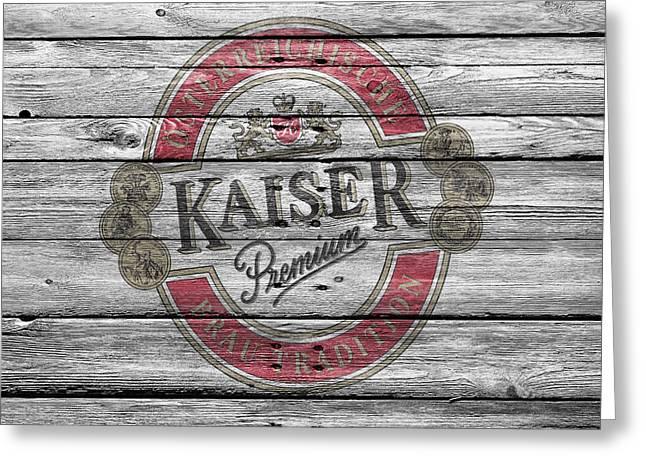 Kaiser Greeting Card by Joe Hamilton