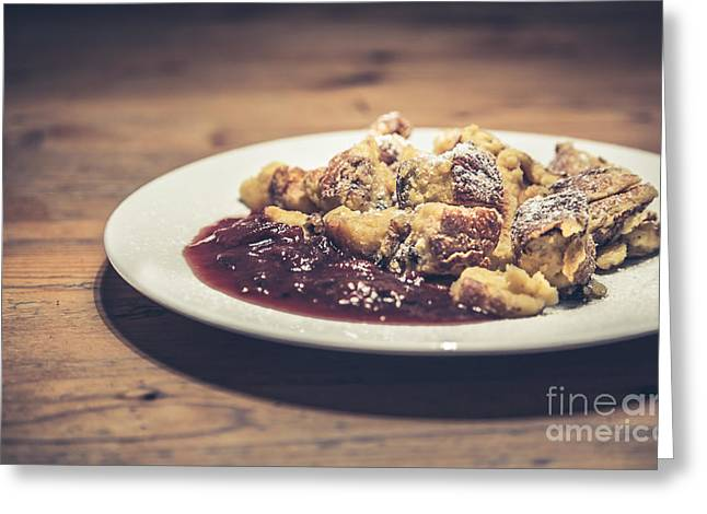 Kaiserschmarrn Greeting Card by JR Photography
