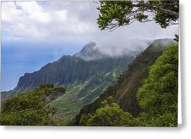 Kalalau Valley 5 - Kauai Hawaii Greeting Card by Brian Harig