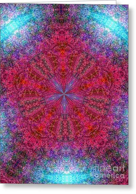 Greeting Card featuring the photograph Kaleidoscope 2 by Robyn King