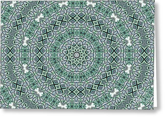 Kaleidoscope 31 Greeting Card by Ron Bissett