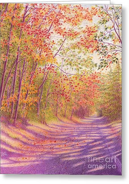Kaleidoscope Morning Greeting Card