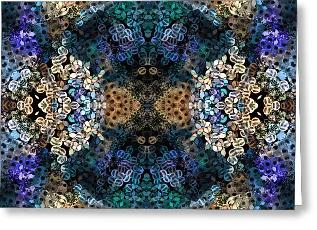 Kaleidoscopic 1 Greeting Card by Gabour Demans