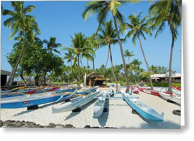 Kamakahonu Beach, Kailua-kona, Big Greeting Card