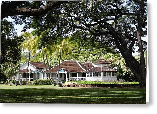 Kamehameha The Fifth Summer Cottage Greeting Card