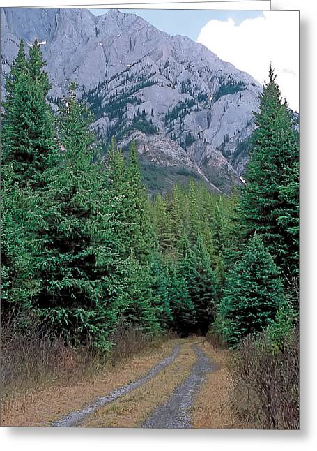 Kananaskis 3 Greeting Card