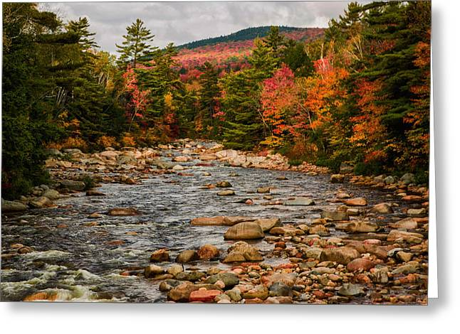 Kancamagus Prelude Greeting Card by Jeff Folger