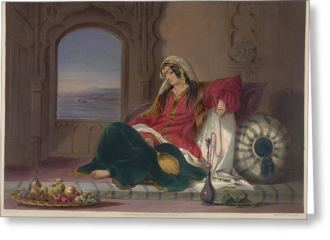 Kandahar Lady Of Rank Greeting Card