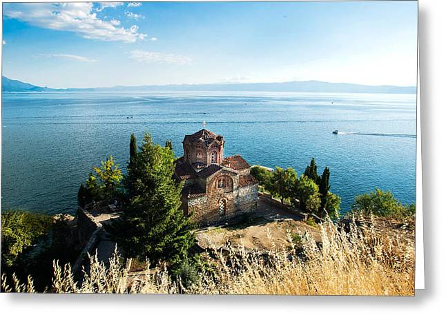 Kaneo - Ohrid Greeting Card by Ivan Vukelic