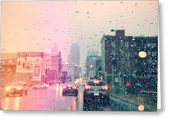 Kansas City #1 Greeting Card by Stacia Blase