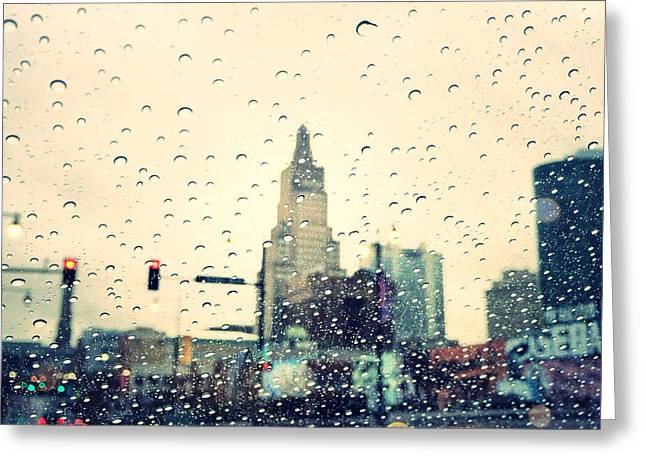 Kansas City #3 Greeting Card by Stacia Blase