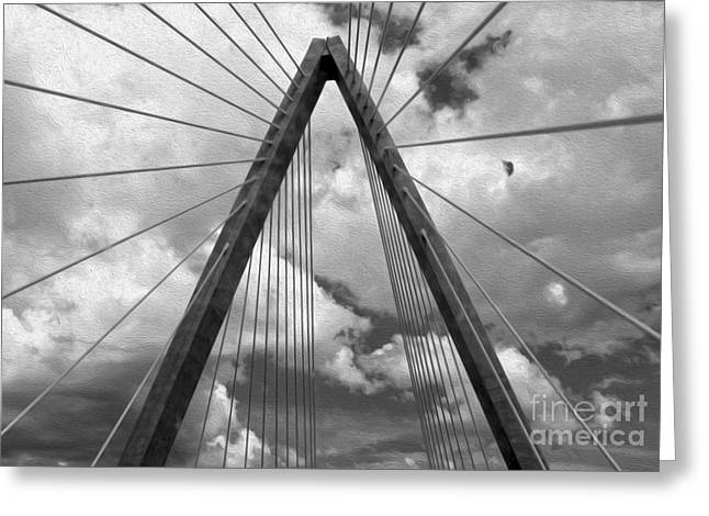 Kansas City Bridge - 03 Greeting Card by Gregory Dyer