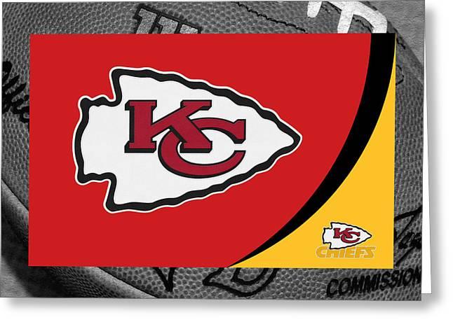 Kansas City Cheifs Greeting Card
