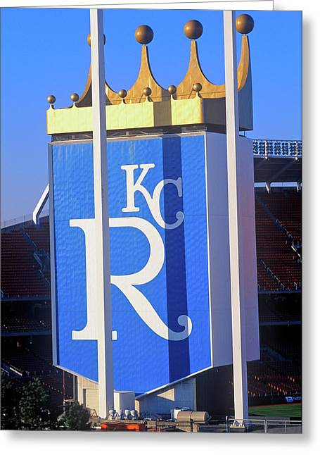Kansas City Royals, Baseball Stadium Greeting Card