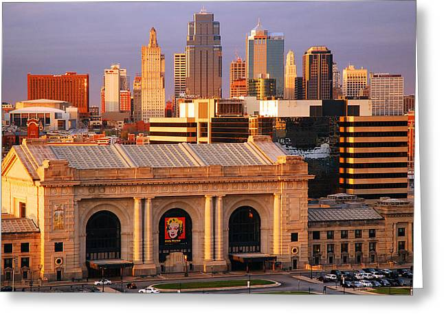 Kansas City Skyline Greeting Card