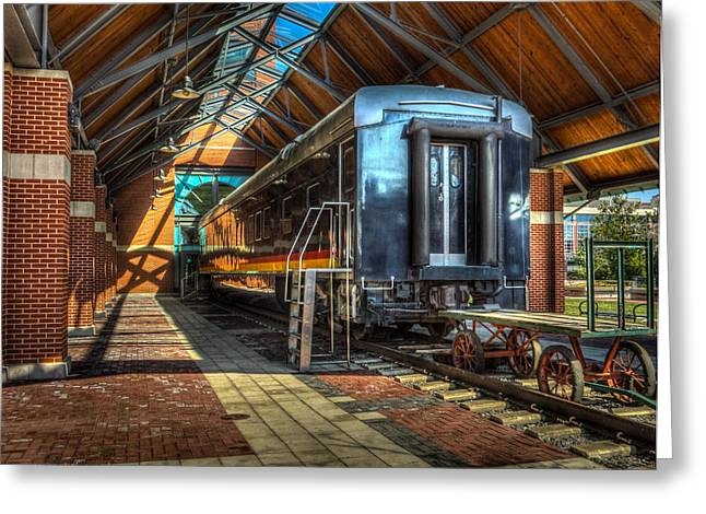 Greeting Card featuring the photograph Kansas City Southern by Ross Henton