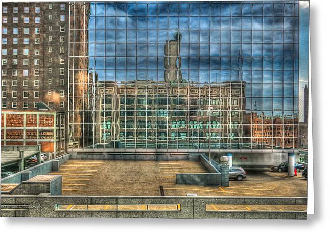 Kansas City Windows Greeting Card
