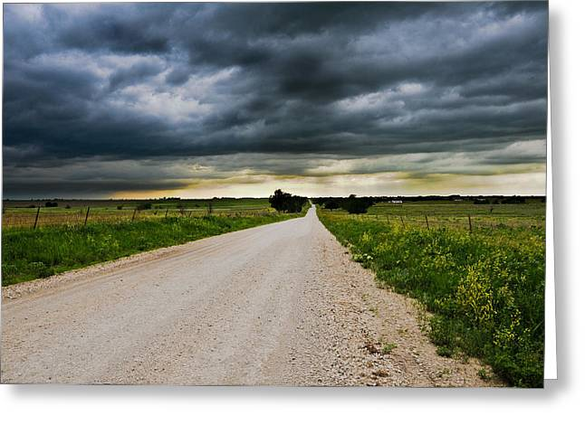 Kansas Storm In June Greeting Card