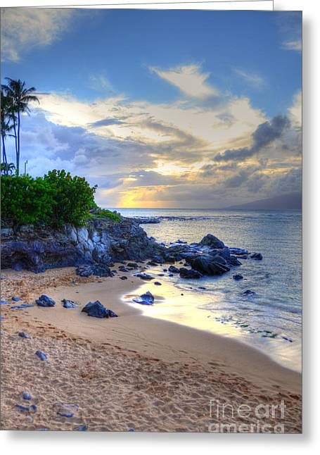 Kapalua Bay Greeting Card by Kelly Wade