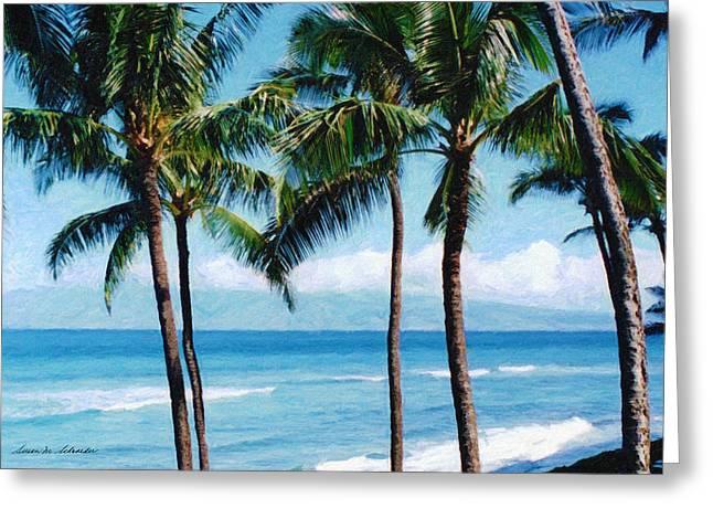 Kapalua Beach Greeting Card