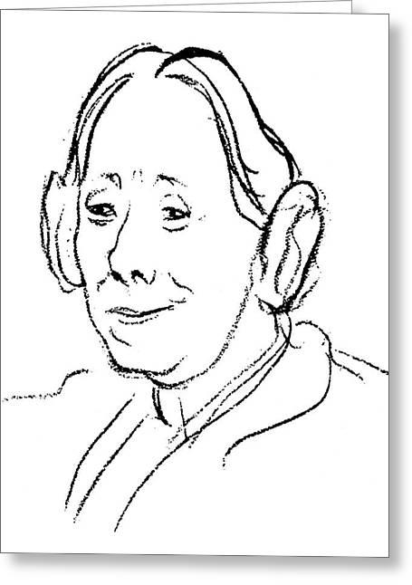 Karen Horney (1885-1952) Greeting Card